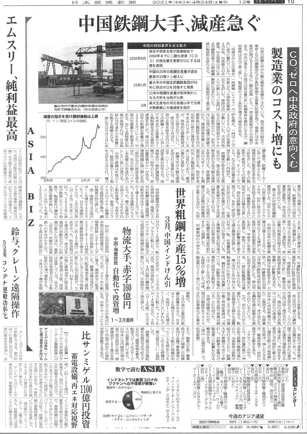 20210424日本経済新聞