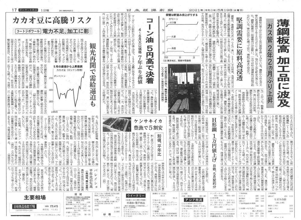 20210519日本経済新聞